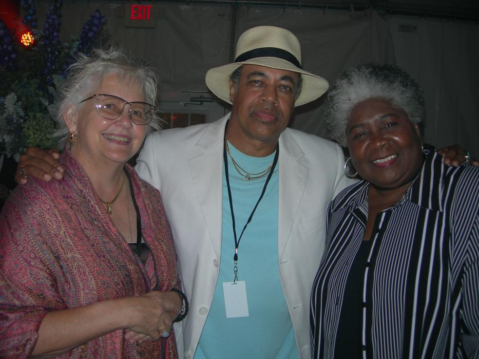 Carol, Billy Branch and Dorothy Moore at