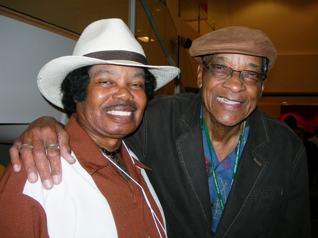Mickey Rogers and Hubert Sumlin