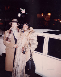 Jimmi Mayes and Martha Reeves 1988 in Chicago