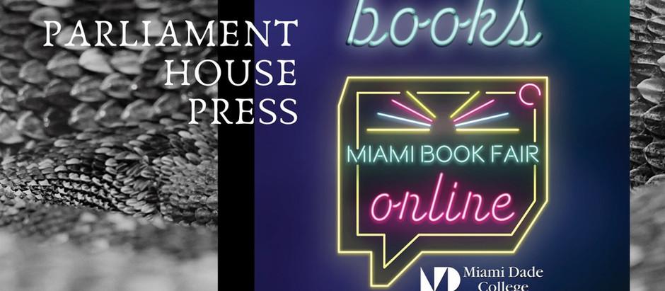 We Are At the (Virtual) Miami Book Fair!