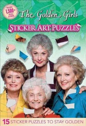 The Golden Girls Sticker Art Puzzles