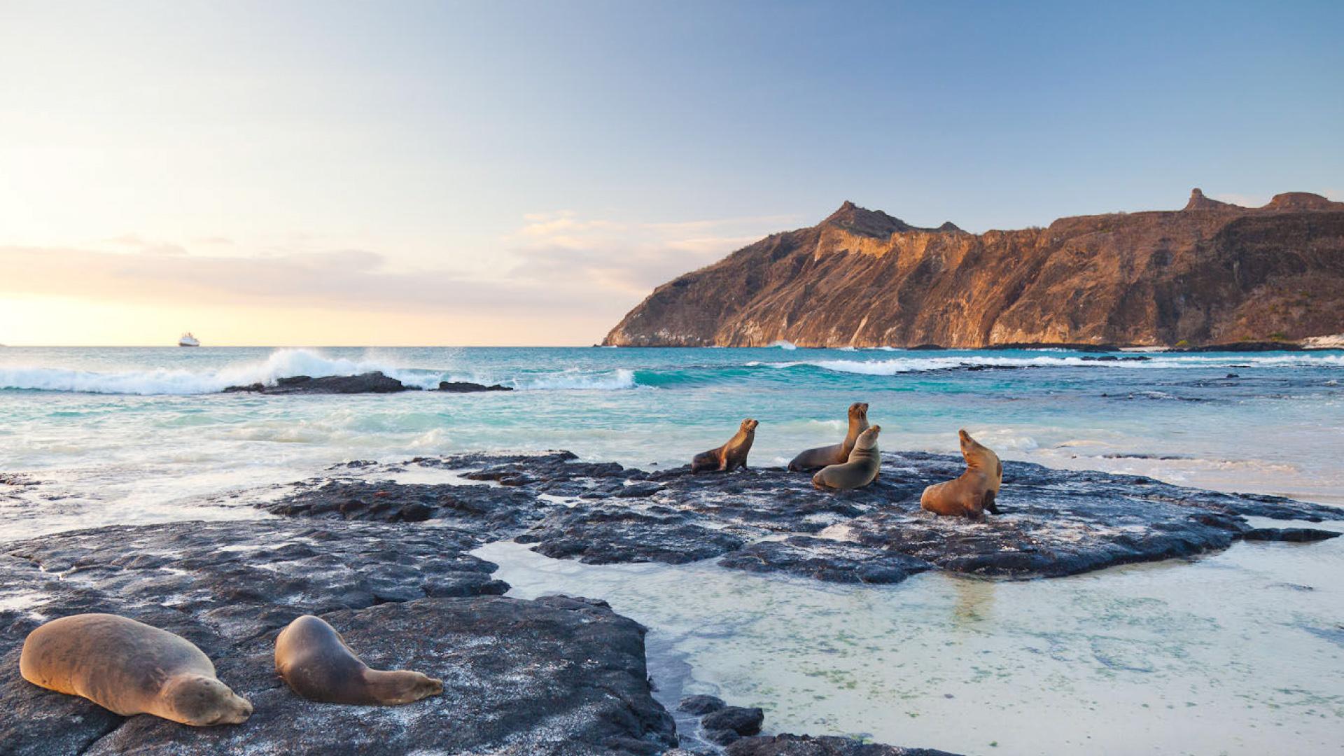 Isla San Cristobal en Galapagos