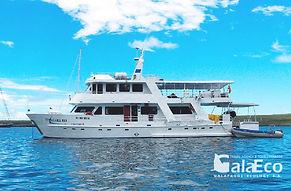 La mejor manera de disfrutar de Galapagos es navegando en el Yate Estrella de Mar
