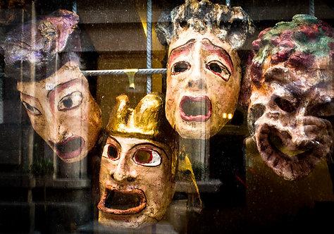 Gilberto Perin - Máscaras