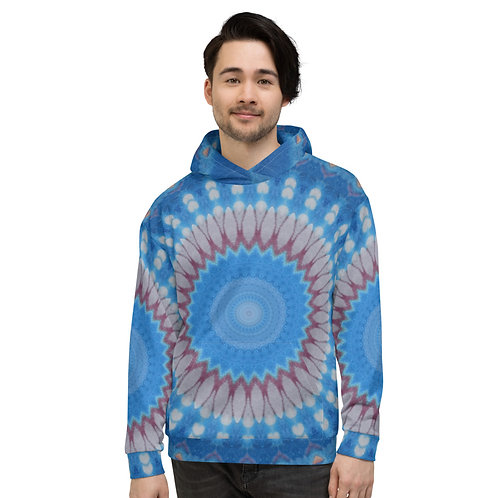 """Unisex Hoodie """"Abstract Blue"""""""