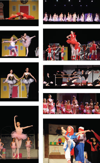 Images from Enchanted Garden's peformance ofthe Nutcracker
