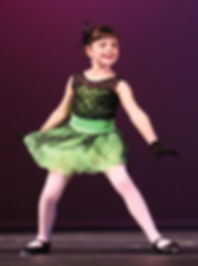 Child performing tap dance