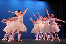 Ballet with ballerinas
