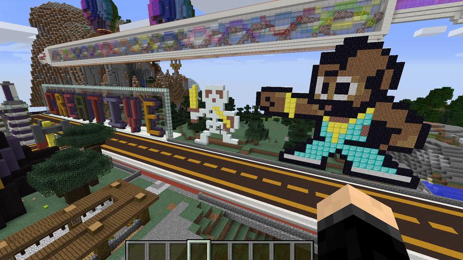 Minecraft World Exchange - Creative Server