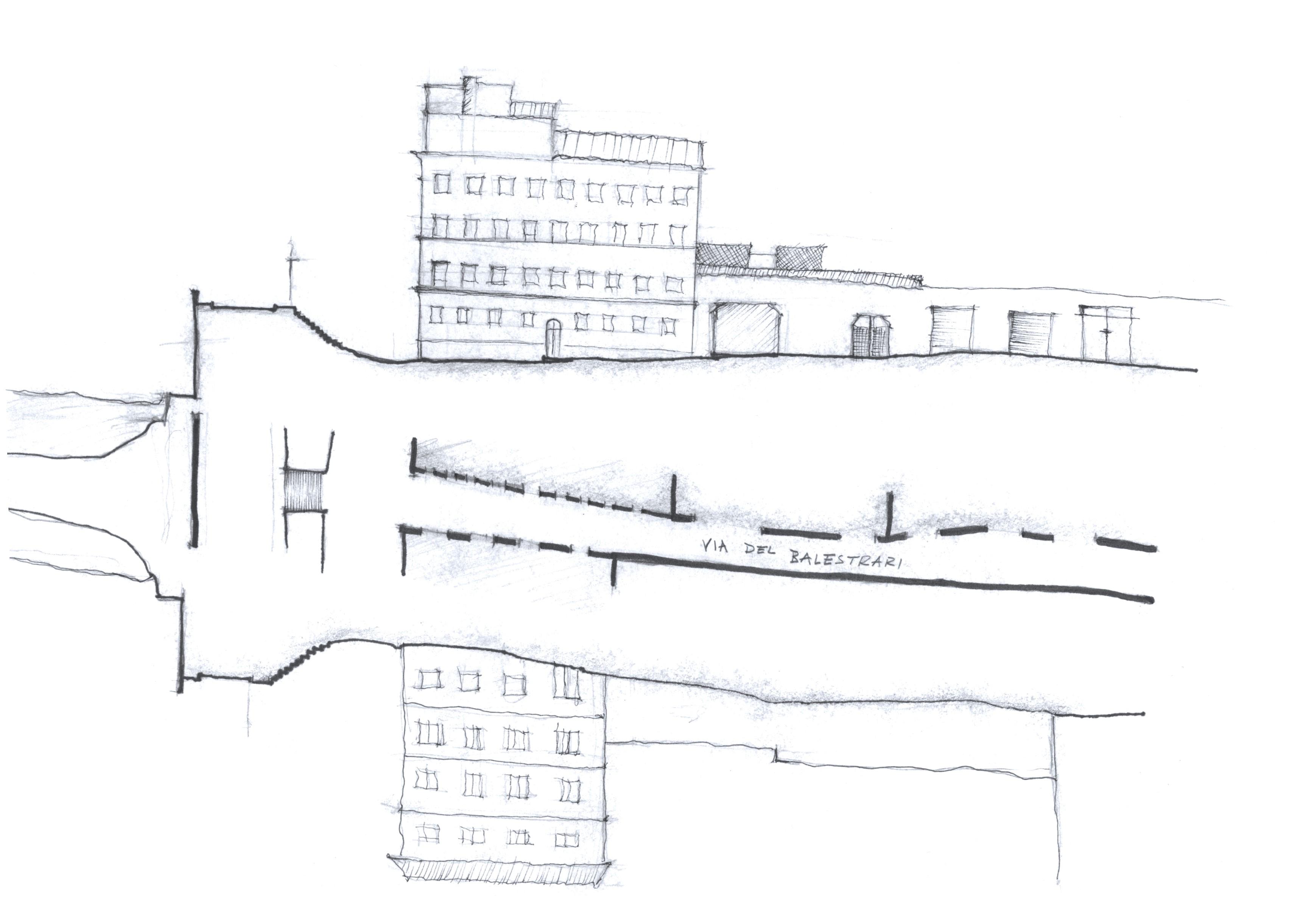 Rome Street Plan + Elevs