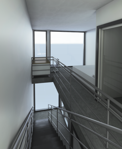 1 bedroom stairs