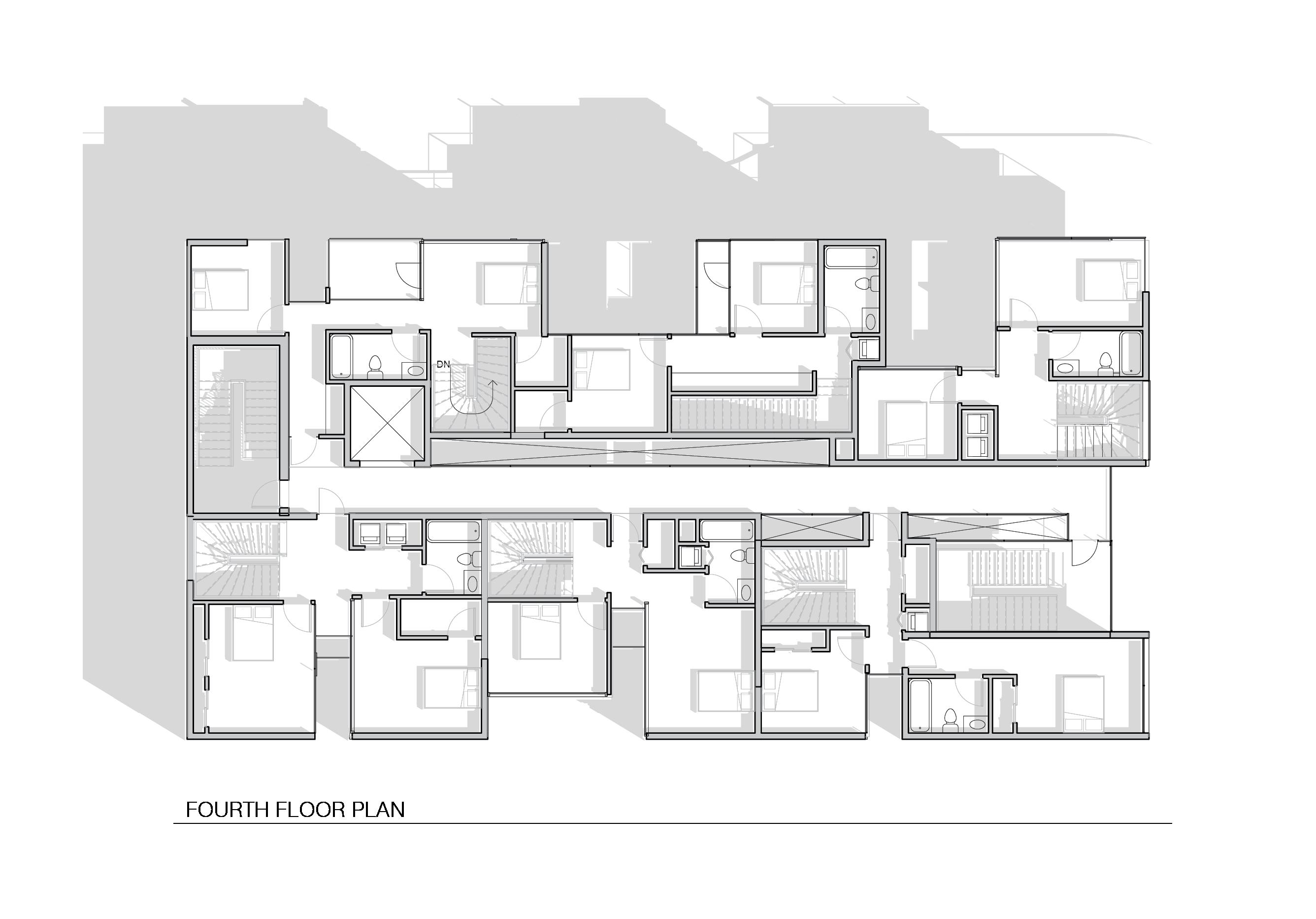 Final Review board-05 4th floor plan