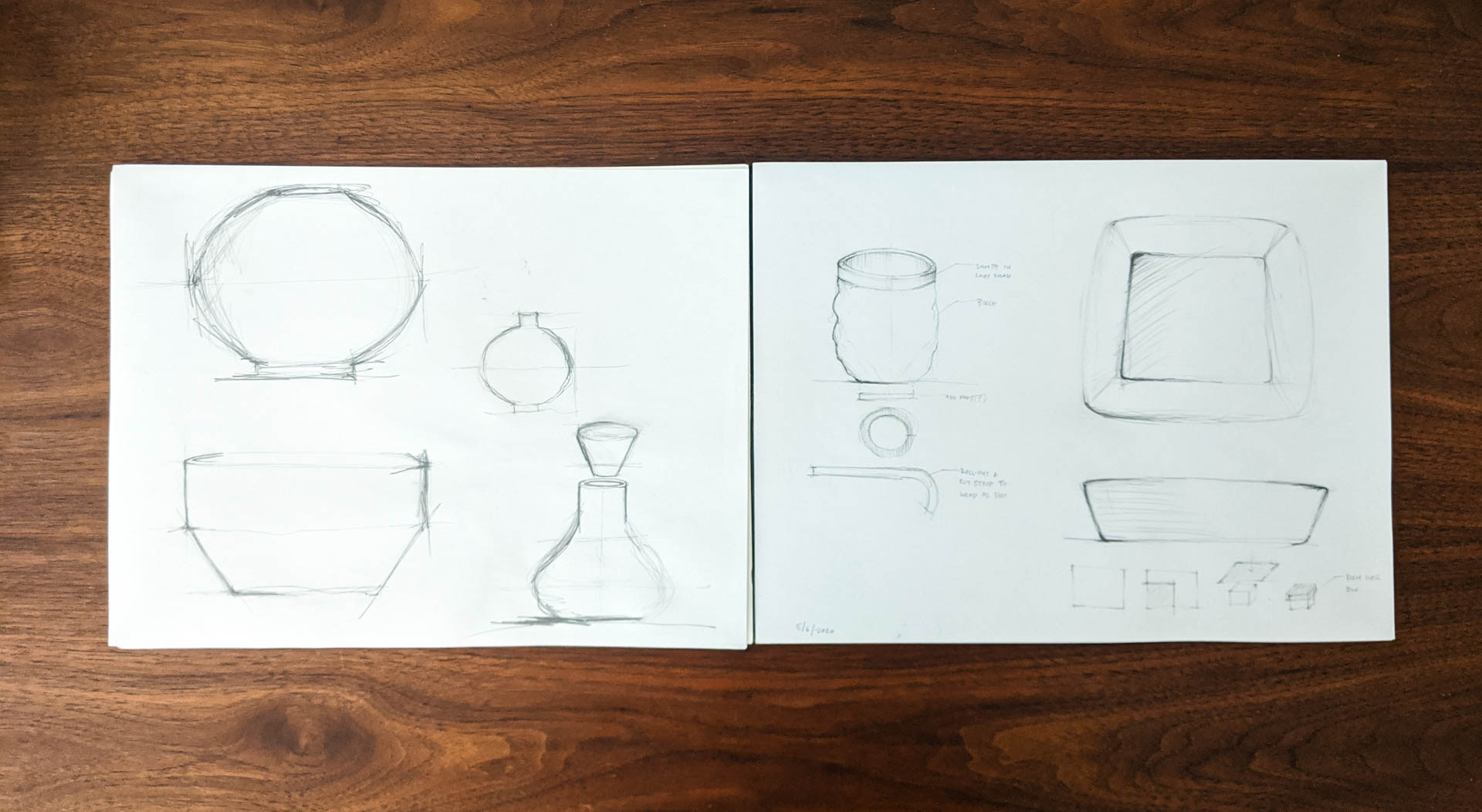 Forms / Squared Bowl Process