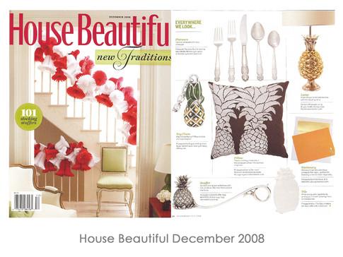 House Beautiful December 2008
