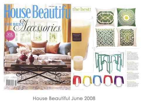 House Beautiful June 2008
