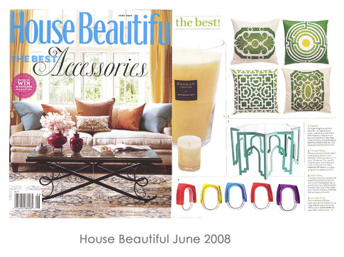 House Beautiful June 2008