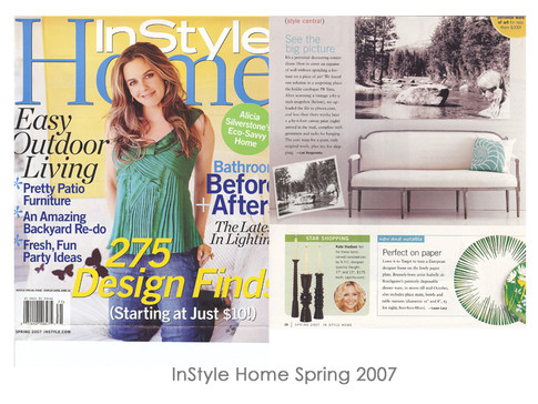 InStyle Home Spring 2007