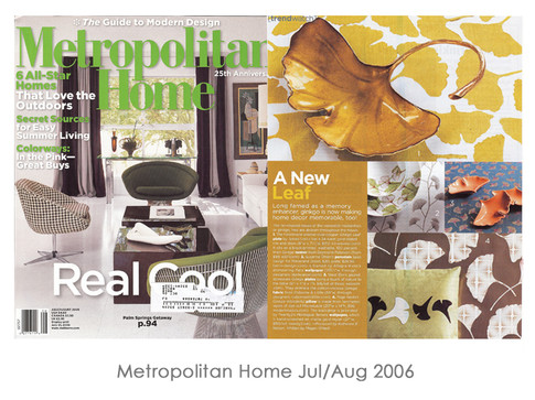 Metropolitan Home Jul/Aug 2006