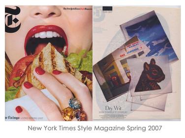 New York Times Style Magazine Spring 2007