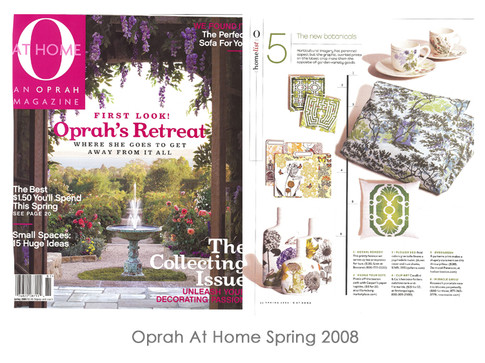 Oprah at Home Spring 2008