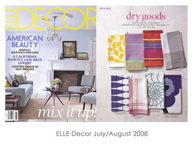 ELLE Decor Jul/Aug 2008