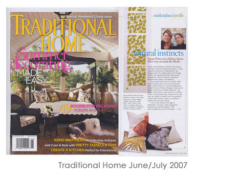 Traditional Home June/July 2007