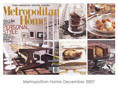 Metropolitan Home December 2007