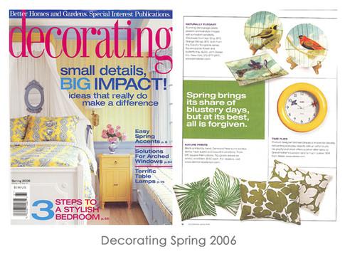 Decorating Spring 2006