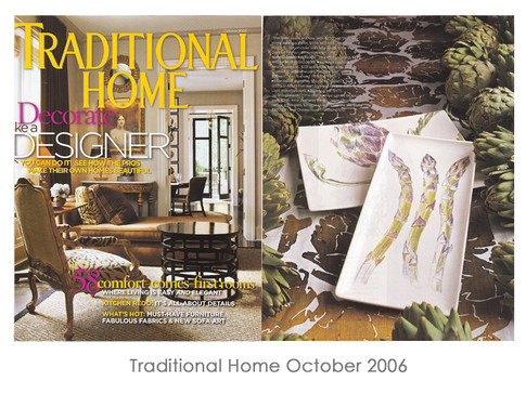 Traditional Home Magazine October 2006