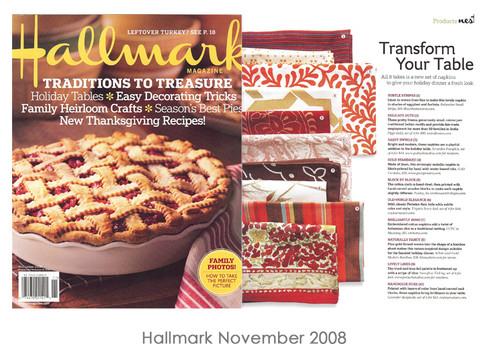 Hallmark November 2008