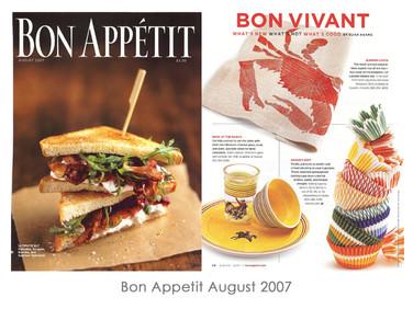 Bon Appetit August 2007