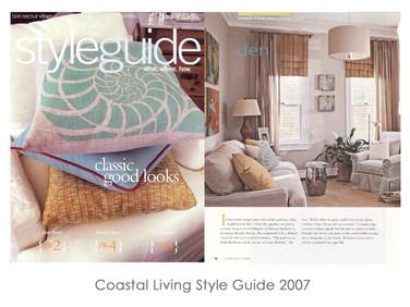 Coastal Living Style Guide 2007