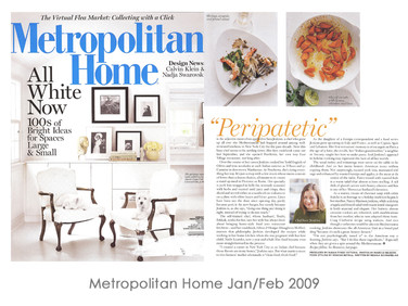 Metropolitan Home Jan/Feb 2009