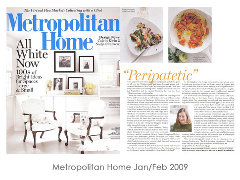 Metropolitan Home Jan/Feb 2009