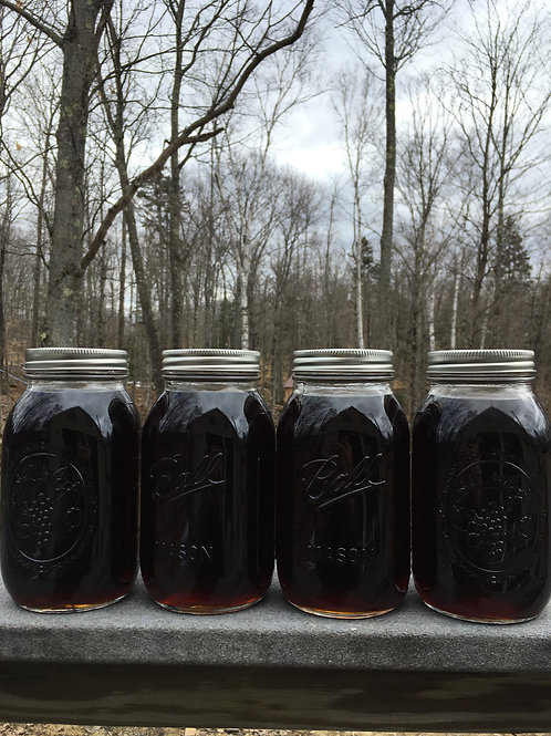 One Gallon. Grade A: Dark Color, Robust Taste