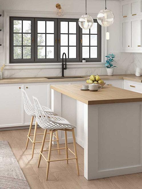 Kurv Counter Chair - White ( 2 Pack )