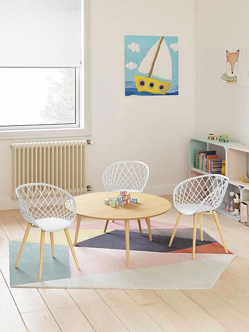 Kurv Mini Chair - White ( 2 Pack )