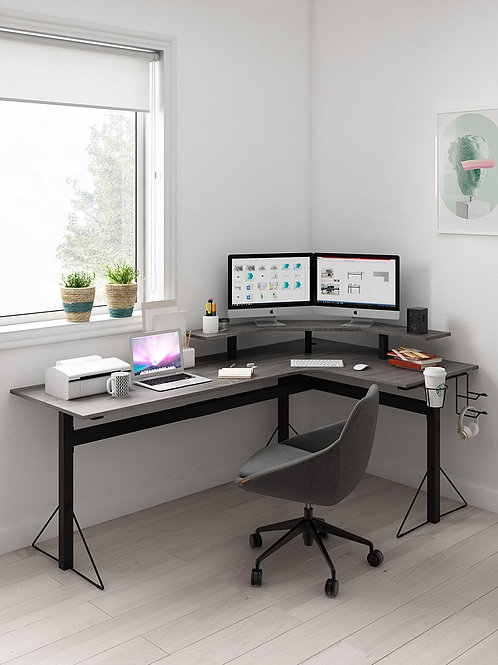 Working/ Gaming Power L Desk