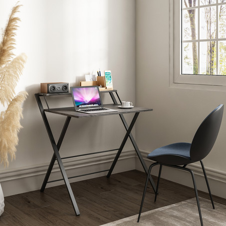 Core Folding Two-Tier Desk