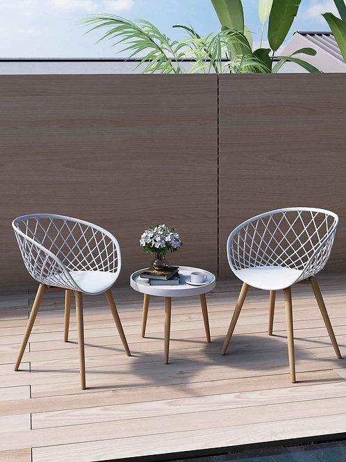 Kurv Chair - White ( 2 Pack )