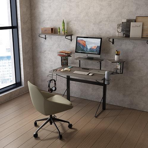 Gray Oak Gaming/ Working Desk