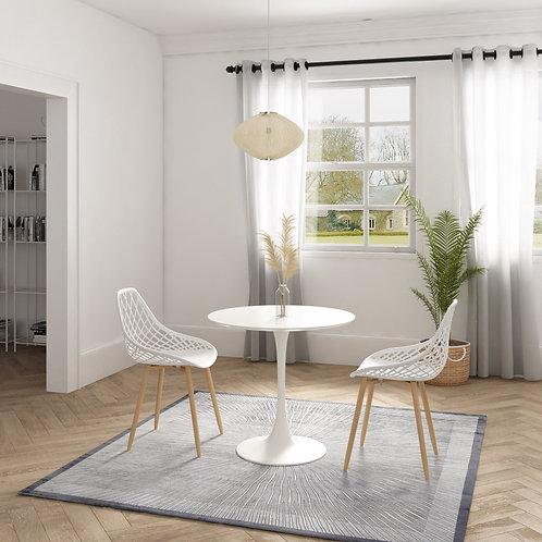 Kurv Cafe Table +2 Dining Chair