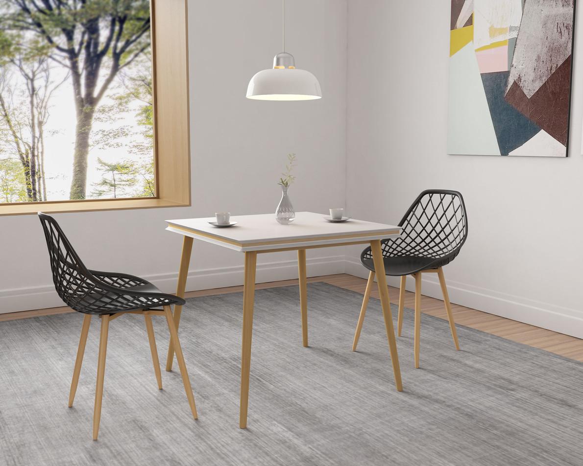 Kurv Dining Chair (Black)