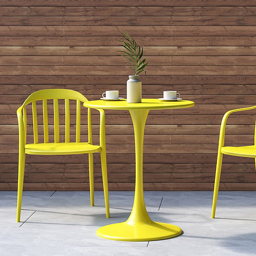 Bistro Table - Yellow