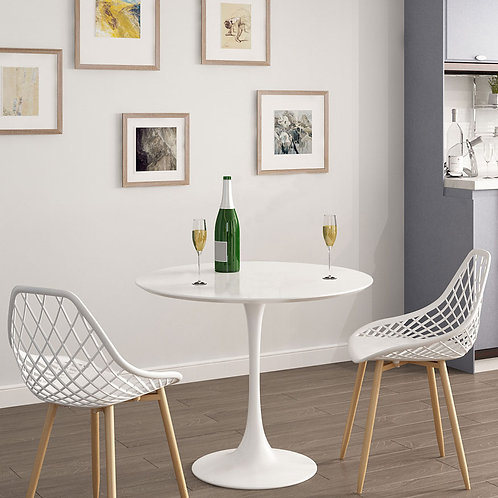 Kurv Cafe Table- White