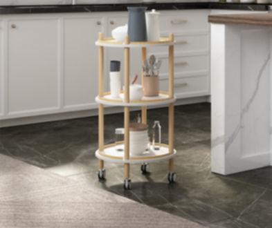 Jamesdar affordable kitchen carts