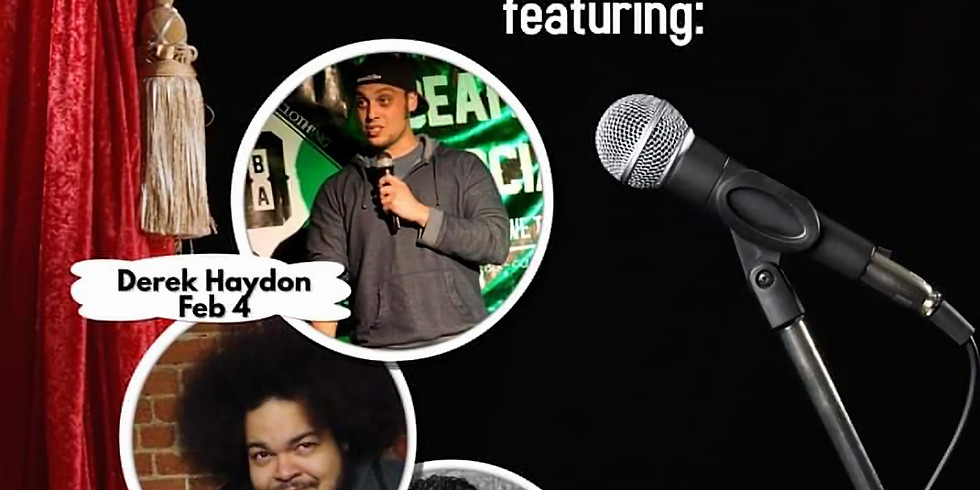 Tuesday open mic comedy.