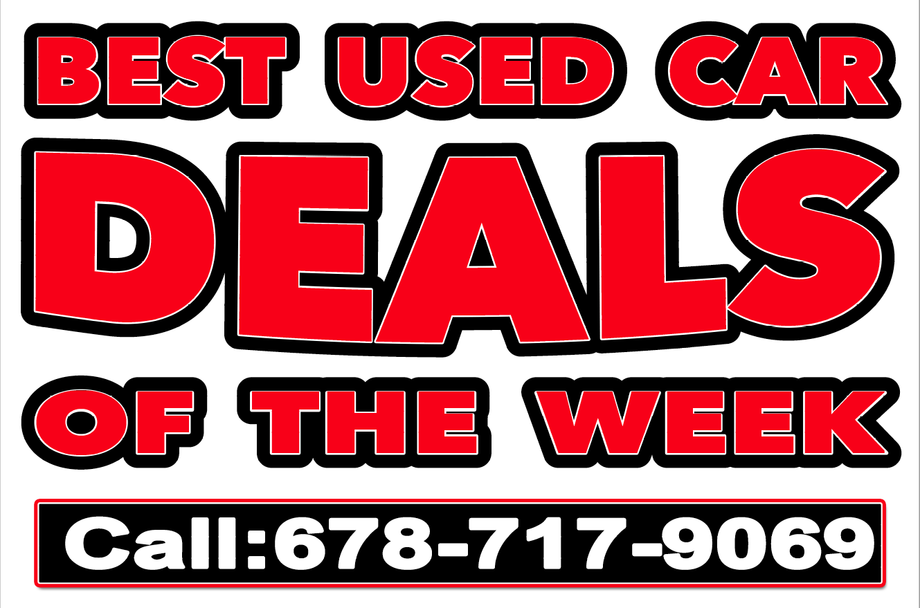 Best Used Car Deals for sale