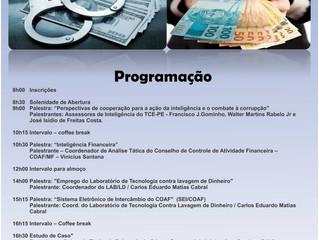 I SEMINÁRIO DE TÉCNICAS INVESTIGATIVAS DE COMBATE À CORRUPÇÃO E LAVAGEM DE DINHEIRO