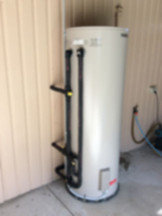 hot water system replacement maintenance